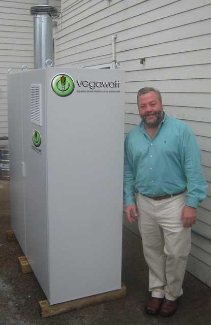 Vegawatt - elektrociepłownia na olej roślinny