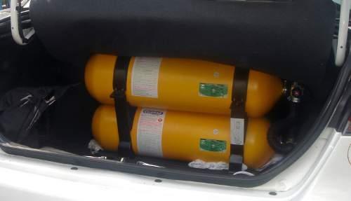 Zbiorniki na CNG do samochodu