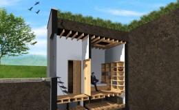 Ziemianka: idealny dodatek do energooszczędnego domu