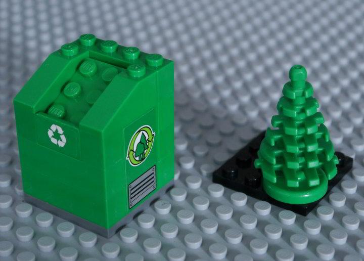 Klocki LEGO. Dziś wykonywane z ABS.
