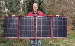 Moja nowa składana bateria słoneczna o mocy 200 W